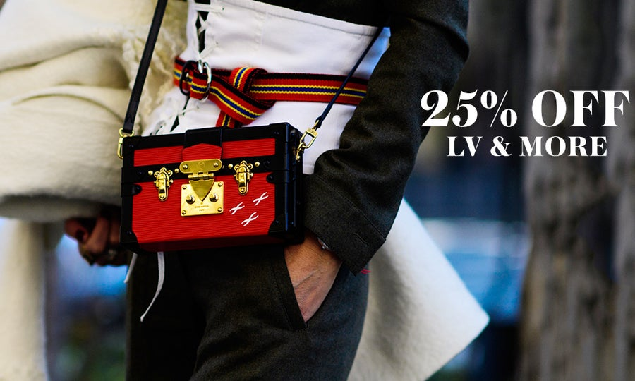 25% Off Louis Vuitton, Céline, & More