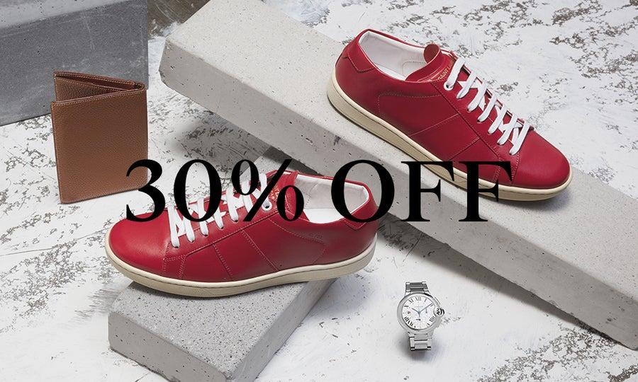 30% Off Men's Saint Laurent & More
