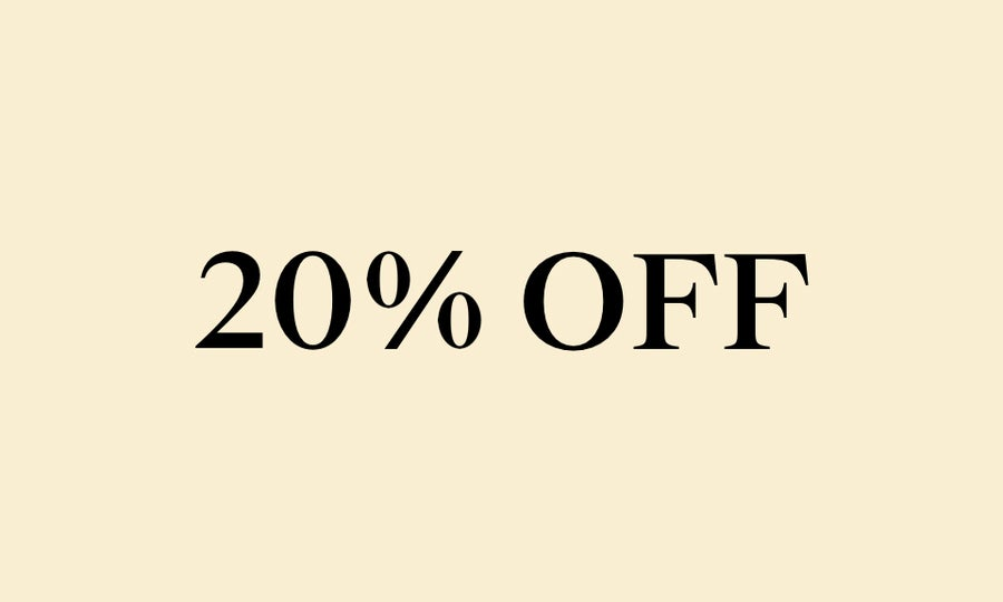 20% Off New Arrivals