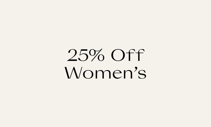 25% Off Women's Editors' Picks