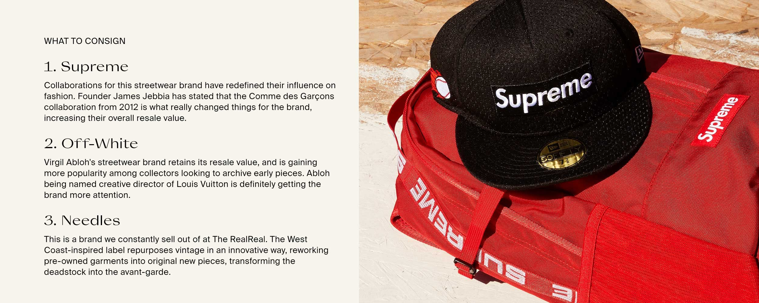 d1223ec2 Streetwear To Buy & Consign Now | The RealReal