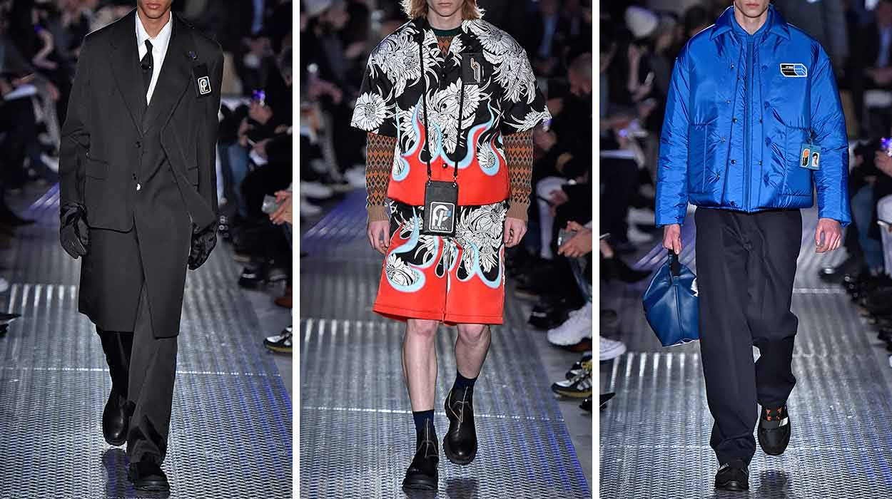 5cecd9fe2715b3 Prada Men. From tailored suits to statement pieces ...